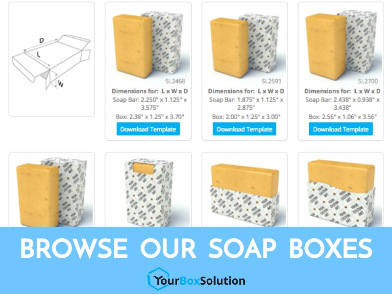 Soap bar box your box solution blog for Soap box design template