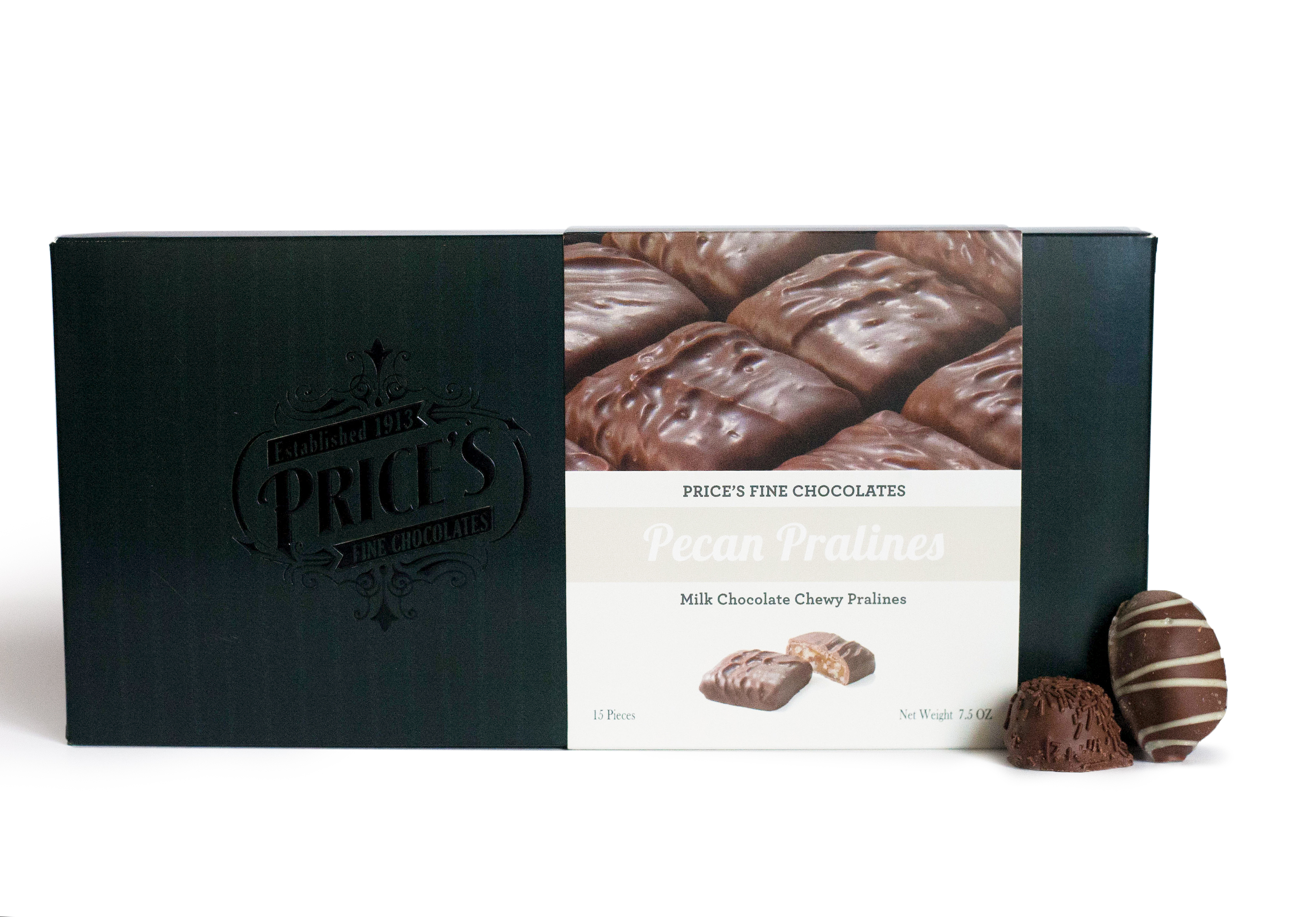 Box Sleeves for Price's Fine Chocolates (http://www.sweetshopusa.com/prices-fine-chocolate_