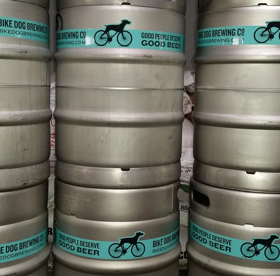 Photo from http://instagram.com/bikedogbrewing/