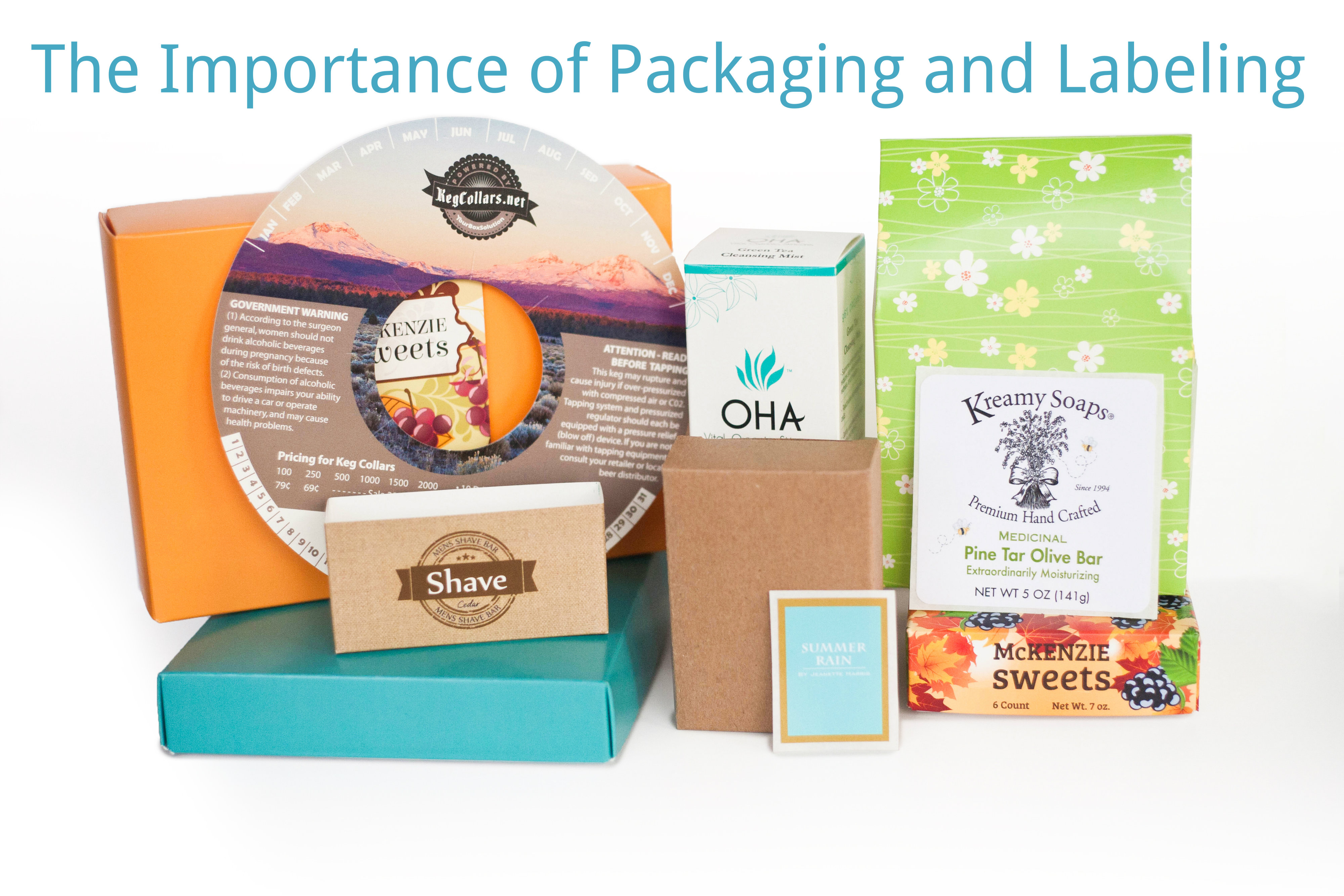 The Importance of Packaging and Labeling