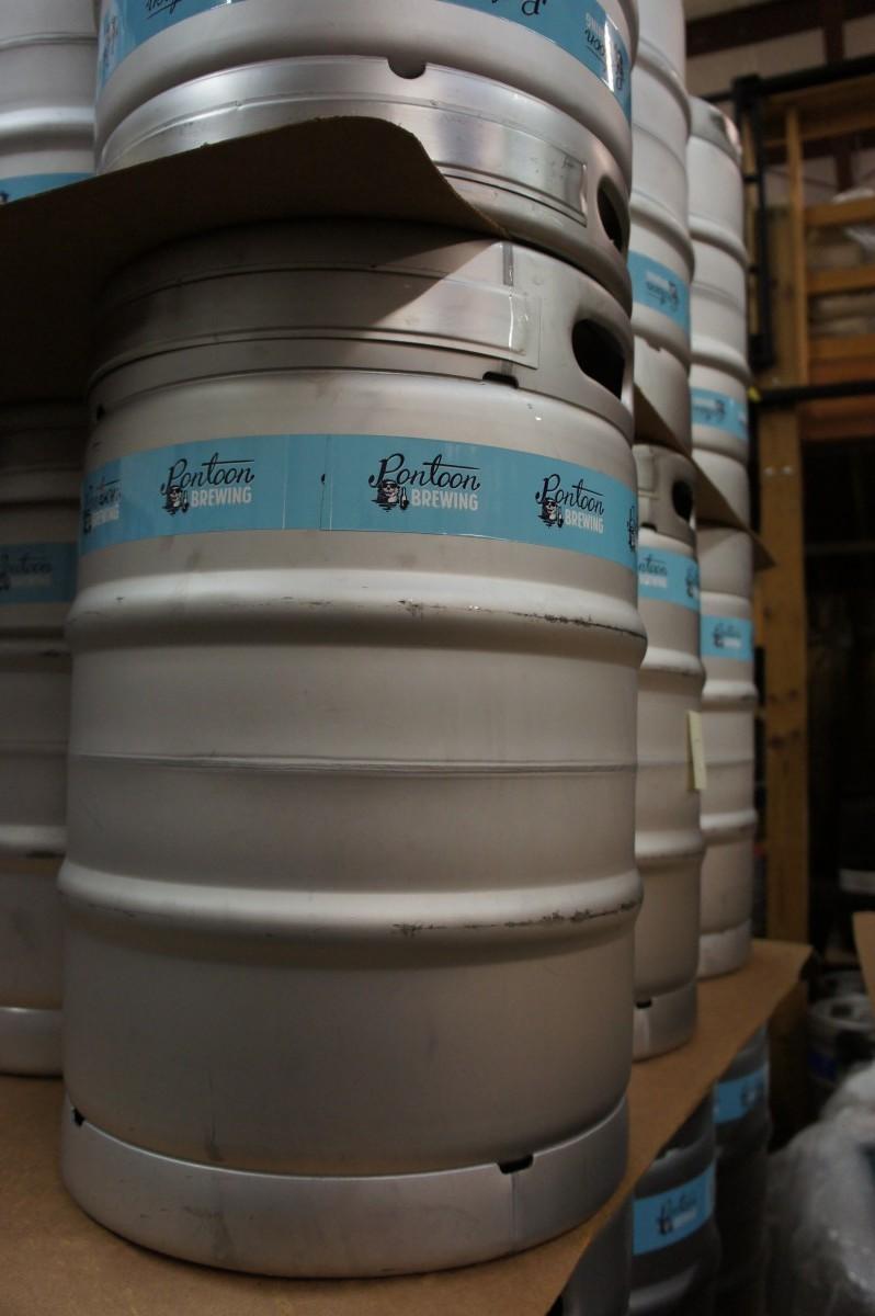 Keg Wraps for Pontoon Brewing