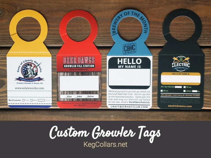 Custom Growler Tags