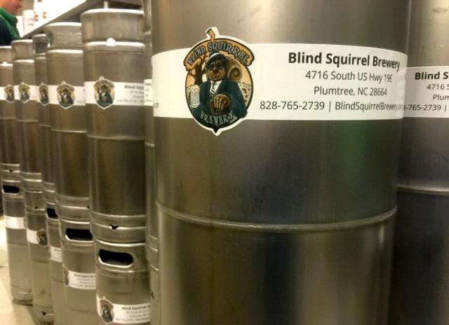 KegCollars.net Keg Wraps for Blind Squirrel Brewery