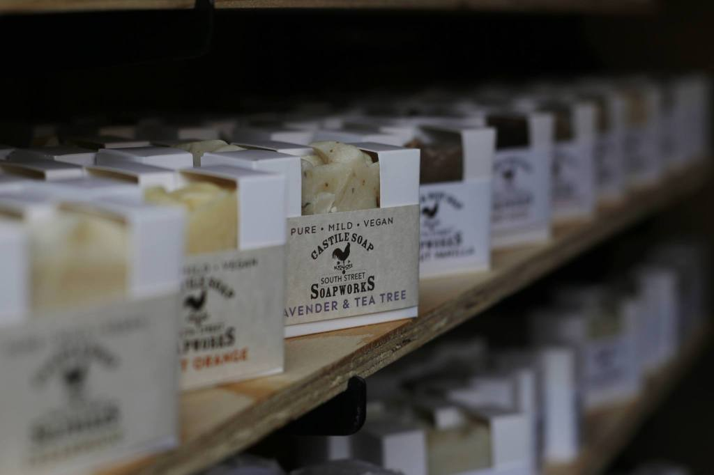 South Street Soapworks Custom White Boxes