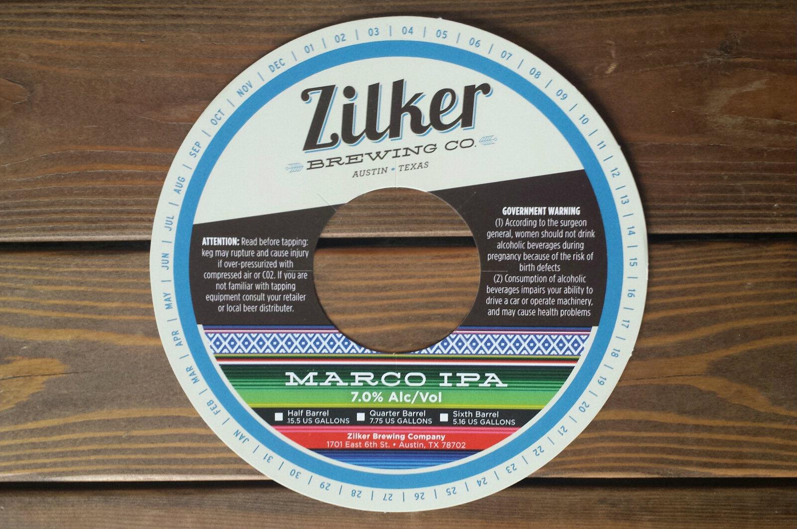 Custom Keg Collars for Zilker