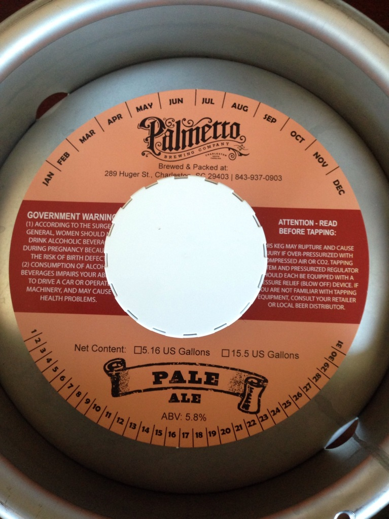 Palmetto Brewing Keg Collars