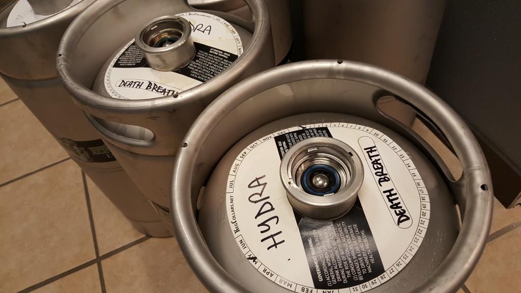 Hydra Beer Company Keg Collars