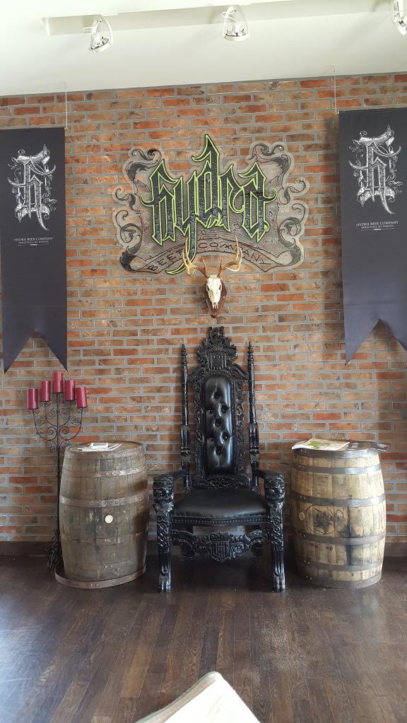 Hydra Beer Company Keg Wraps