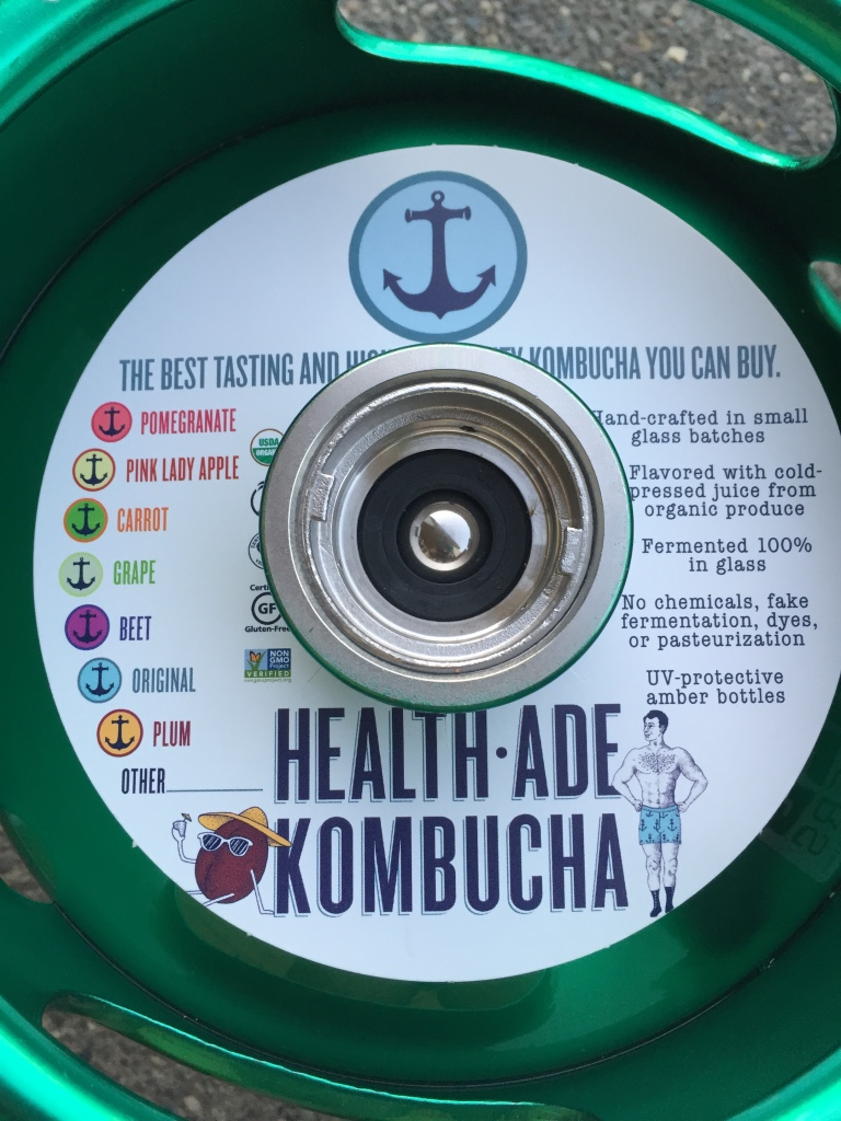 Heallth-Ade Kombucha Keg Collar