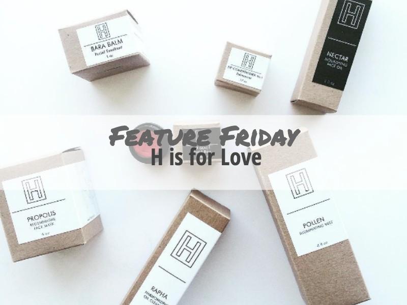 H is for Love Custom Packaging