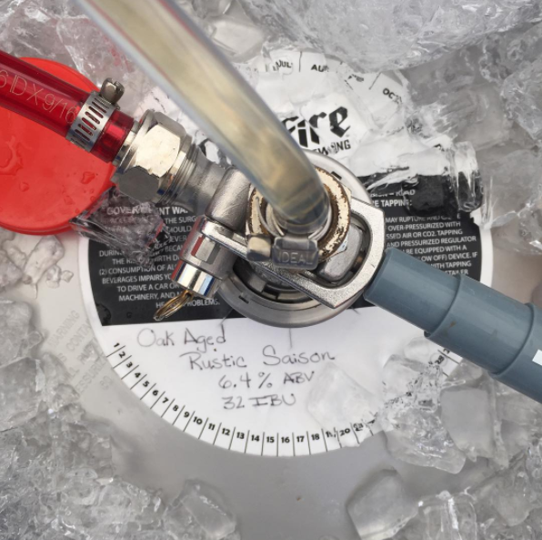 Cold Fire Brewing Keg Collar