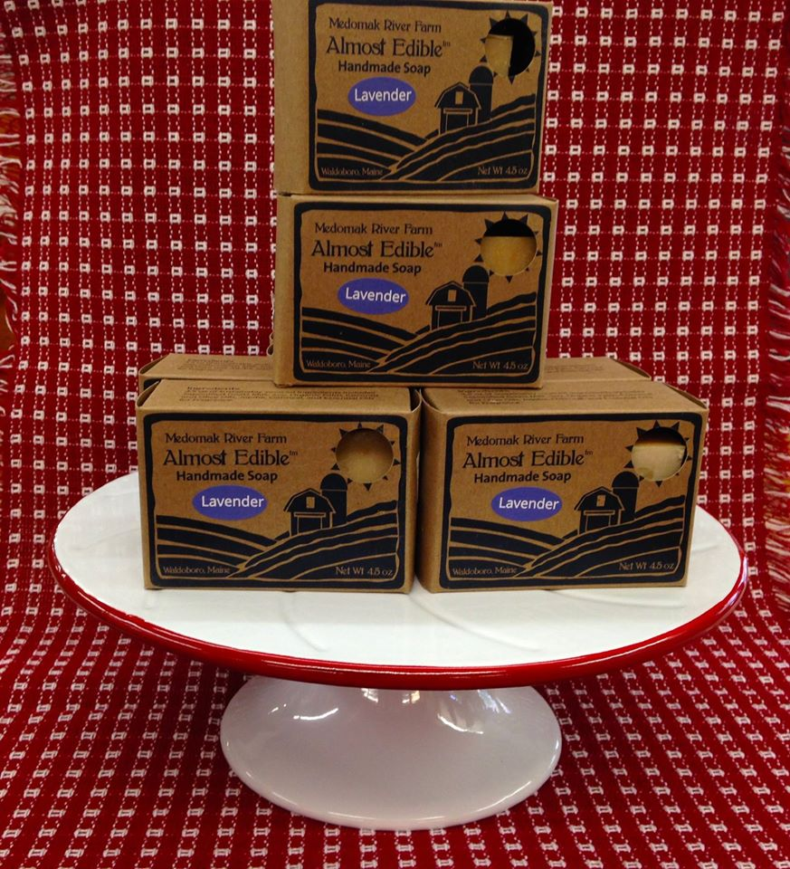 almost edible soap kraft boxes