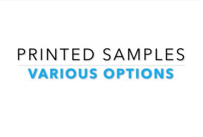 Printed Proof Samples